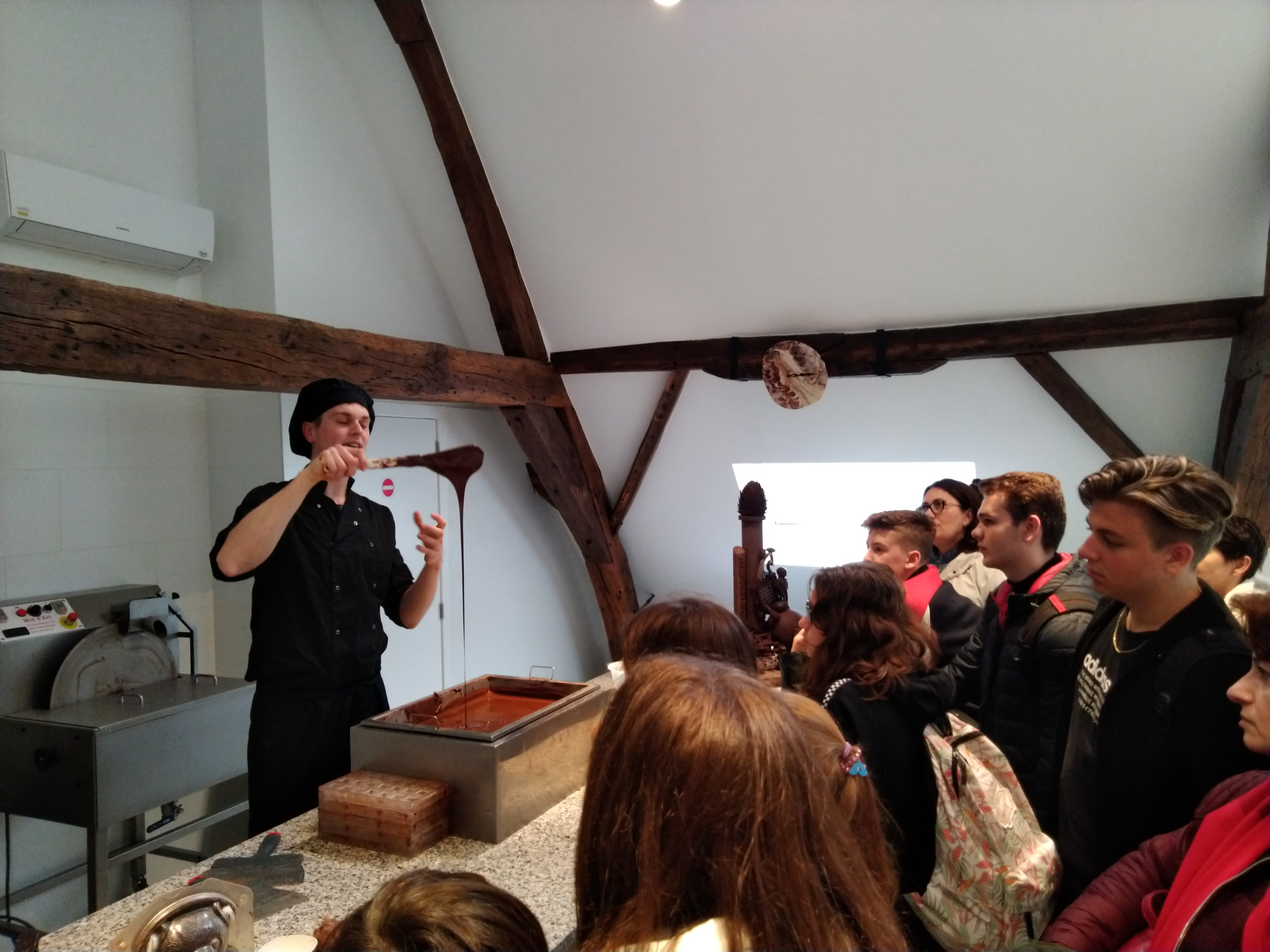 Muzeul ciocolatei Brux.